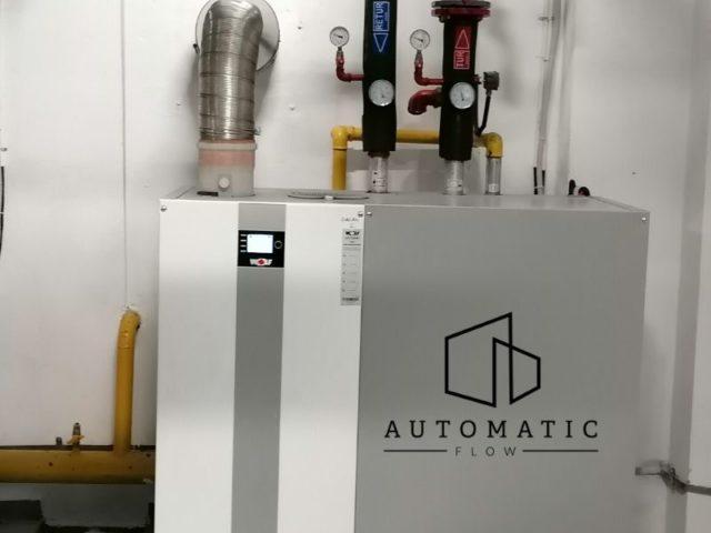 Se poate conecta o centrala termica in condensare direct la sistemul de incalzire in pardoseala