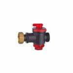robinet tehnopolimer cu filtru inox 1 1_4 rosu