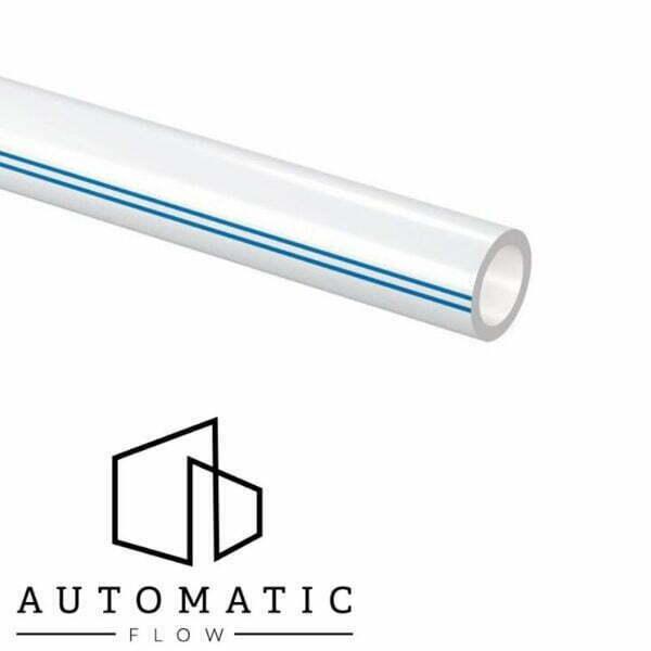"""eavă PE-Xa cu barieră împotriva difuziei de oxigen EVOH (etil-vinil-alcool) cu o protecție exterioară suplimentară de culoare albă cu 2 linii de identificare de culoare albastră. Polietilenă reticulată produsă conform prEN ISO 15875 """"sisteme de ţevi din plastic pentru instalaţii cu apă caldă şi rece - polietilenă reticulată"""" iar bariera împotriva difuziei de oxigen conform DIN 4726. Folosită pentru încălzirea și răcire prin pardoseală este compatibilă cu fitingurile tip Q&E și compresie Uponor. Clasa de presiune : 4+5/6 bar Temperatura maximă: 90°C Temperatura de avarie: 100°C Presiune preconizată de utilizare 6/8 bar la 90°C/70°C Clasa de rez. la foc: E conform DIN EN 13501-1"""