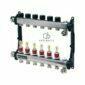 Distribuitor TECEfloor SLQ RECTANGULAR otel inox, complet echipat 10 cai x 3/4