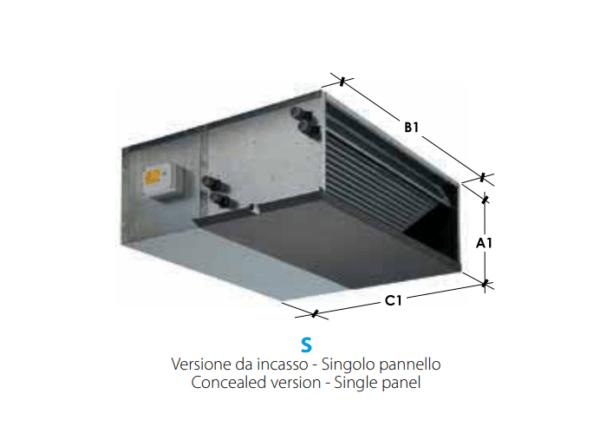 Ventiloconvector HCNA-S 330