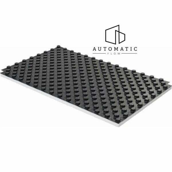 Uponor Tecto placă cu nuturi EPS DES 30-2mm, 14-17mm, 1450x850 mm -