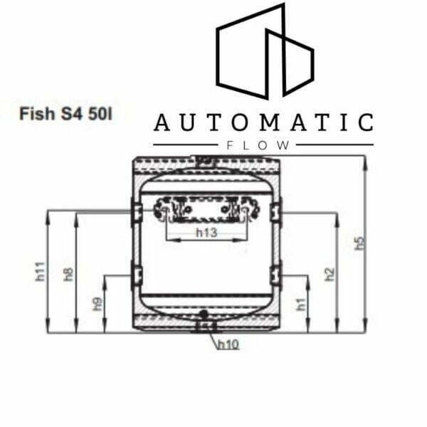 Pufer pentru pompa de caldura FISH S4 - 50 L