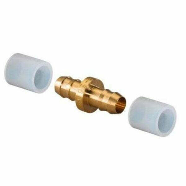 NIPLU UPONOR PE-Xa Q&E 9.9-9.9 livrat cu doua inele 9.9 mm